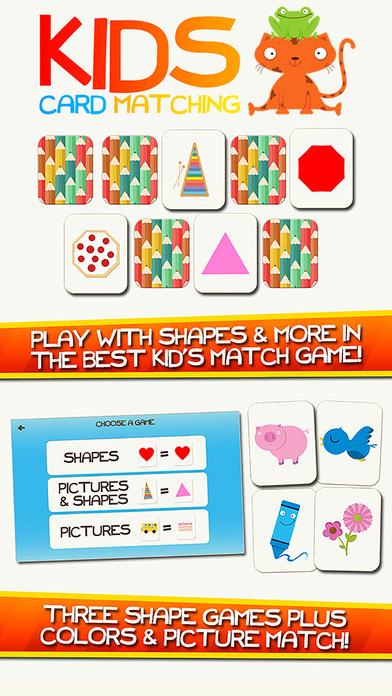 Shape Game & Colors App Preschool Games for Kids Screenshot