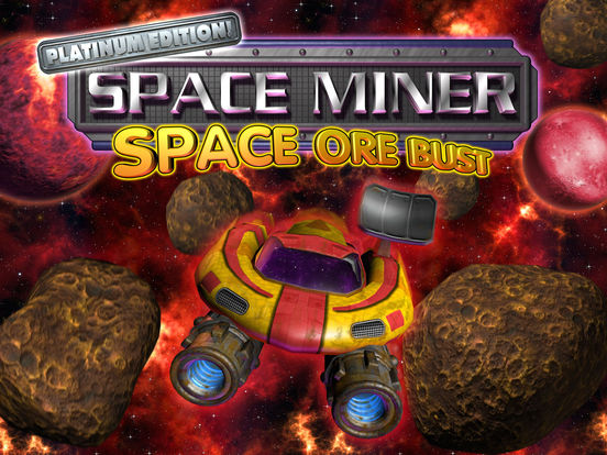 Space Miner: Space Ore Bust iPad Screenshot 5