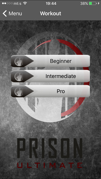 Prison Workout Apps free for iPhone/iPad screenshot