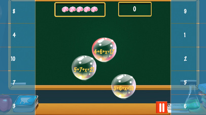 Algebra Bubble Bath Pro screenshot 4
