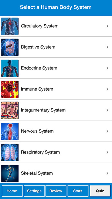 Screenshot for True False : Human Body Quiz in United States App Store