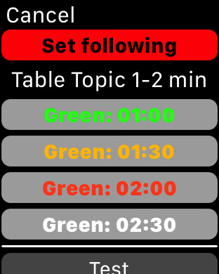 Hada TM Timer iPhone Screenshot 7