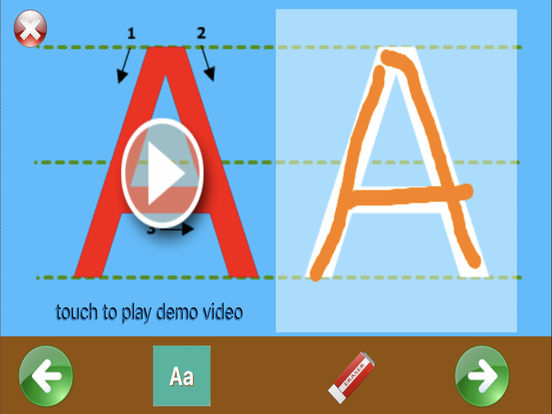 learning ABC for preschool and toddler iPad Screenshot 3