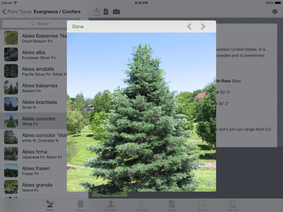 Landscaper's Companion for iPad Screenshots
