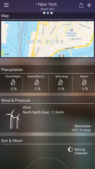 Weather forecast - Weather live - Weather & alert Apps free for iPhone/iPad screenshot
