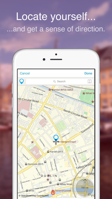 Dublin on Foot : Offline Map Screenshots