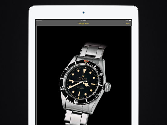 Vintage Rolex HD iPad Screenshot 3
