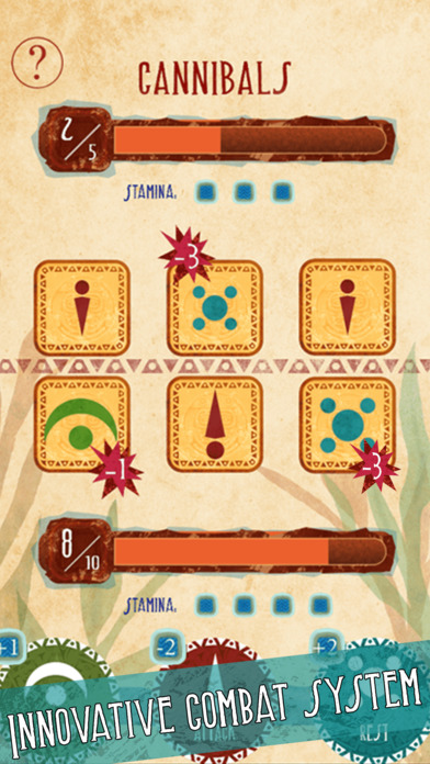 Necklace of Skulls - The Mayan adventure gamebook Screenshots