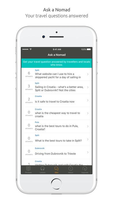 World Nomads Croatian Language guide iPhone Screenshot 5