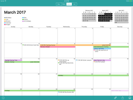 Cal Printer - Print Your Calendar Screenshots