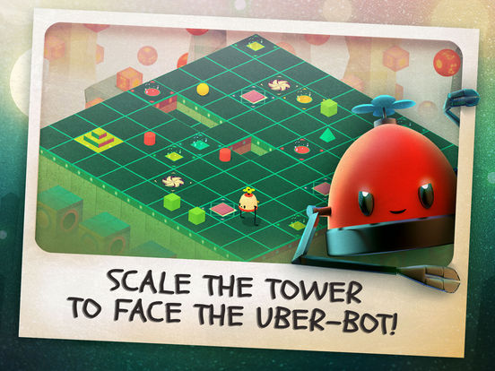 Roofbot: Puzzler On The Roof Screenshots