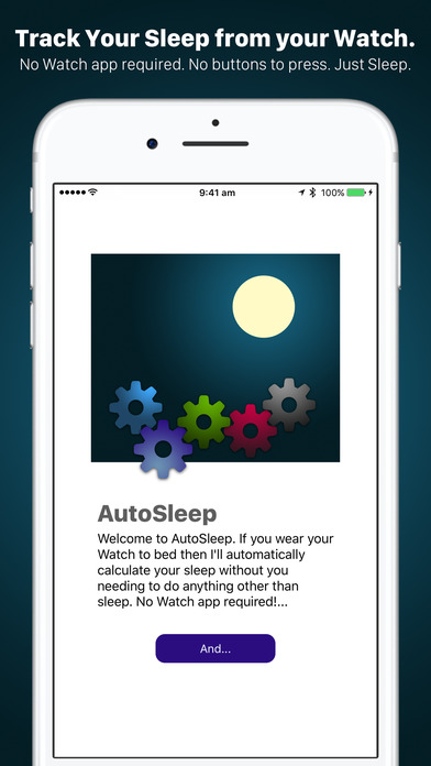 AutoSleep. Track Sleep from Watch Automatically Screenshots
