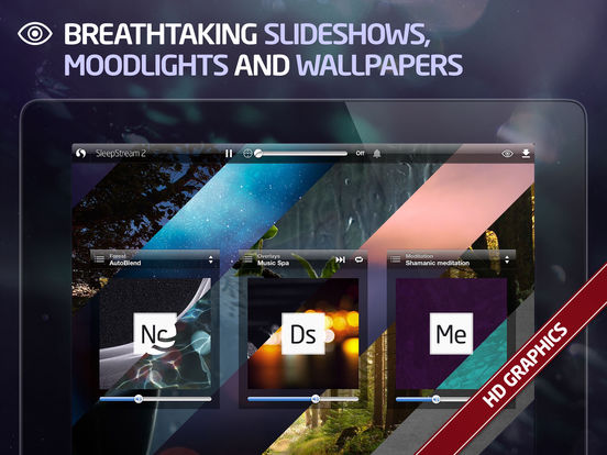 SleepStream 2 - Premium Sound Therapy iPad Screenshot 3