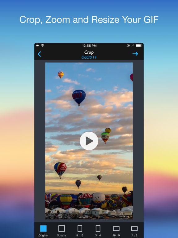 GIF 2 Video - Convert GIF to Video Screenshots