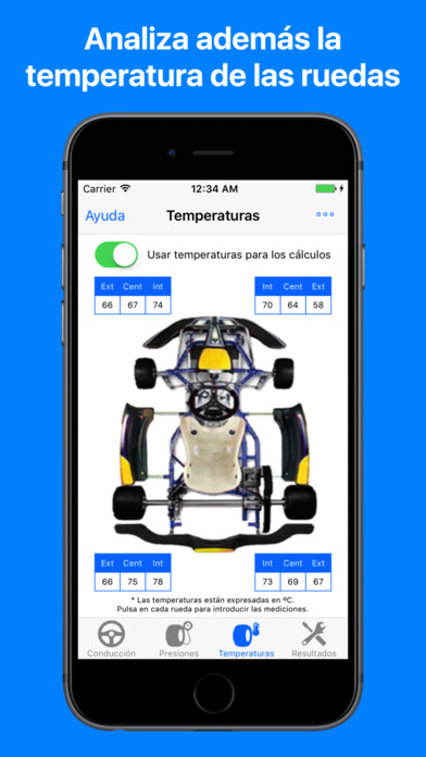 Screenshot for Kart Chassis Setup - Análisis y puesta a punto in Chile App Store
