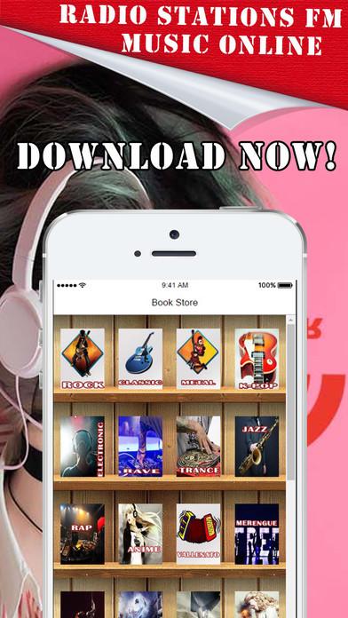 'A Música Online y Estaciones de Radio en Linea iPhone Screenshot 1