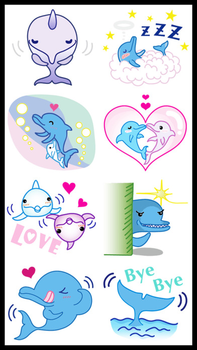 Dolphins Stickers screenshot 3