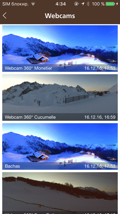 Serre Chevalier iPhone Screenshot 4