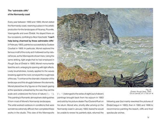 The Monet album : the e-album of the exhibition iPad Screenshot 2