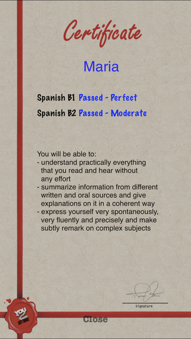 Check Your Spanish iPhone Screenshot 5