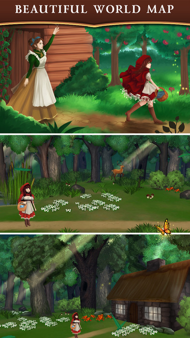 Red Riding Hood: Match & Catch screenshot 3