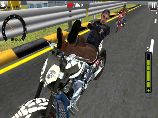 Top Bike Moto Rider City 2k17 screenshot 7