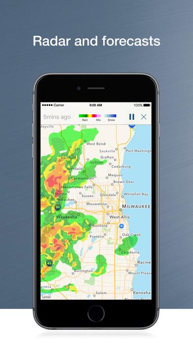 WTMJ-TV iPhone Screenshot 2