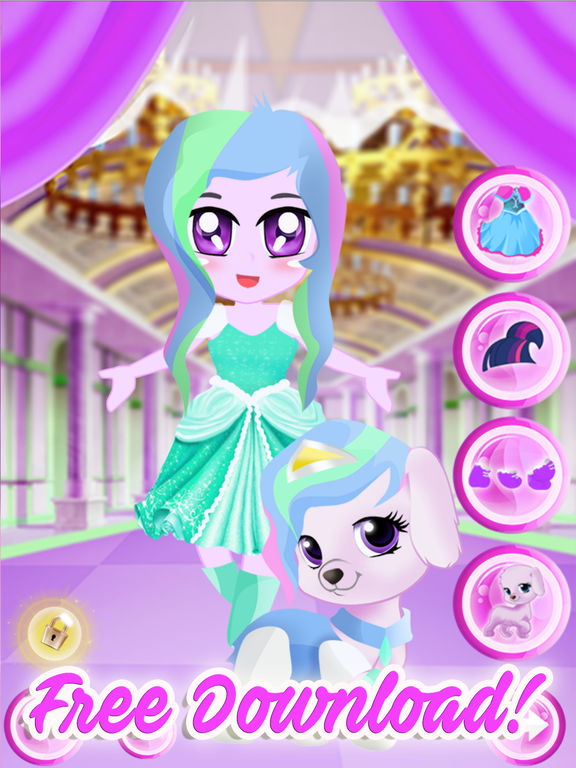 Pony Pet Friendship Dress Up Games screenshot 7