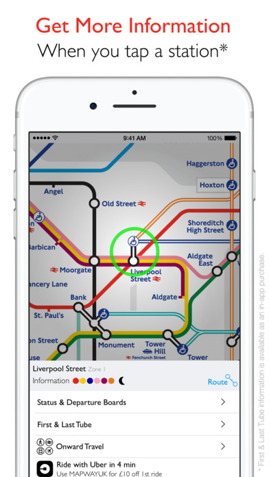 Tube Map iPhone Screenshot 4