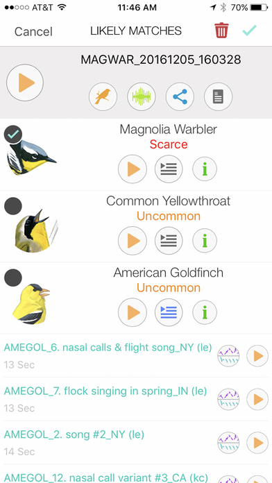 Song Sleuth: Auto Bird Song ID screenshot 1