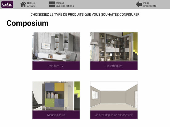 App shopper meubles c lio configurateur lifestyle for Configurateur dressing