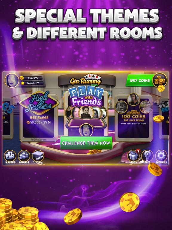 Gin Rummy Plus - Multiplayer Online Card Gamescreeshot 4