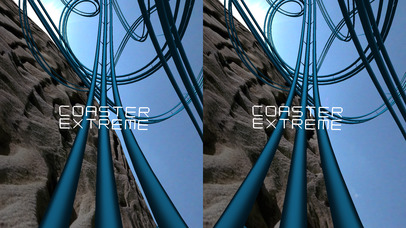 Coaster VR, Extreme Endless 3D Stereograph screenshot for iPhone