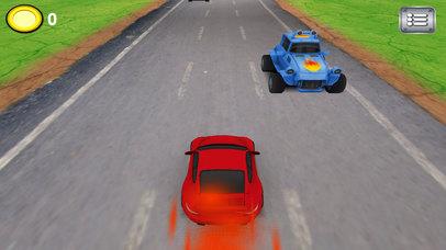 Screenshot 1 Extreme Racing Arena — Free racing games for boys