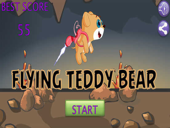 Flying Teddy Bear Game screenshot 4