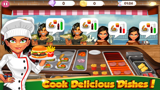 Cooking Games Fever Fast Food Maker & Kitchen Chef on the App Store