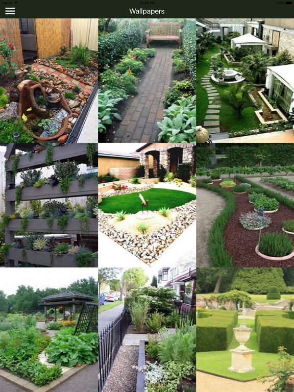 Yard And Garden Landscaping Design Ideas Plans Dans L