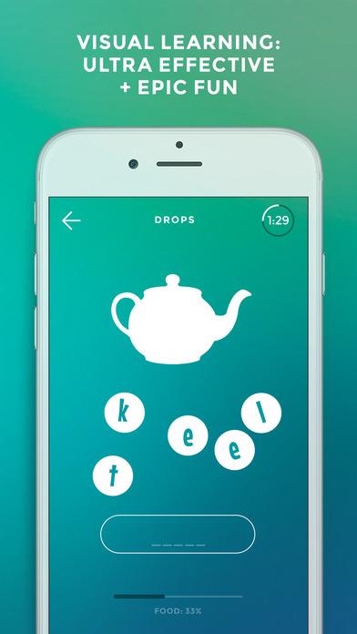 Drops: Learn Korean, etc. app image