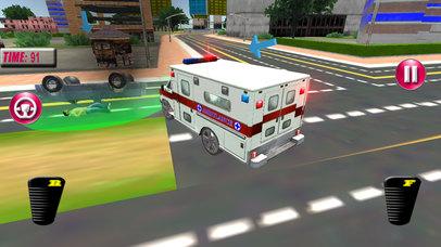 Fast Ambulance Rescue Duty 3D Pro screenshot 1