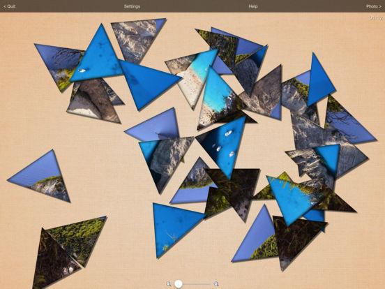 Real Puzzle - MultiShape Jigsaw LITE iPad Screenshot 4
