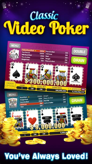 7 free slots.com video poker