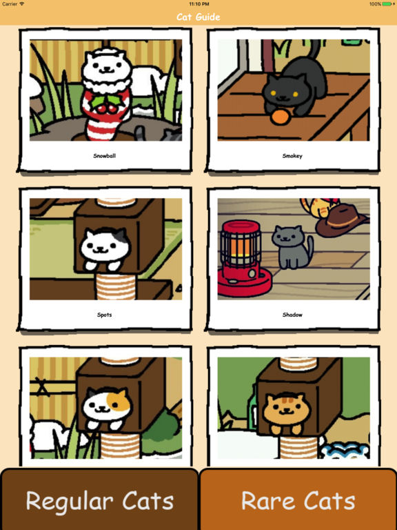 rare cats for neko atsume kitty collector guide apprecs. Black Bedroom Furniture Sets. Home Design Ideas