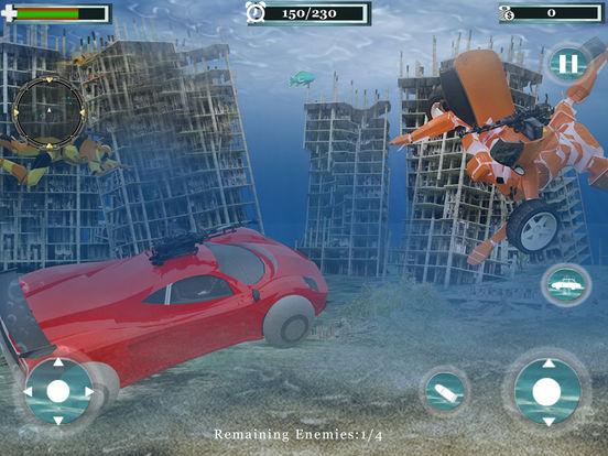 Underwater Robot Car Transformation screenshot 8