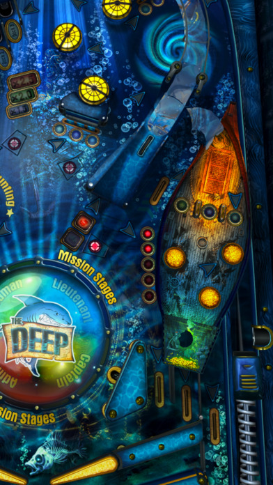 The Deep Pinball iPhone Screenshot 3