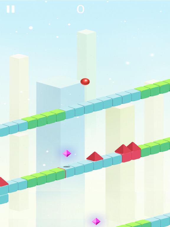 Red Ball Shape World Advenutre screenshot 4