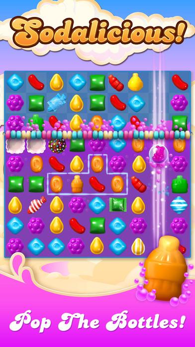 Screenshots of Candy Crush Soda Saga for iPhone