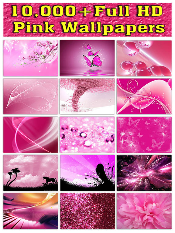 Full HD Pink Wallpapers Screenshots