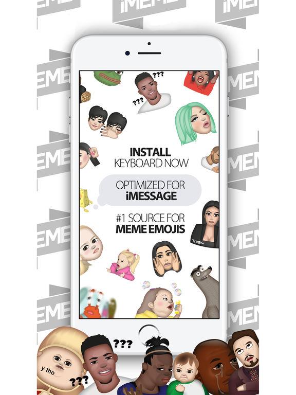 iMeme - Your Moji Meme Keyboard screenshot 8