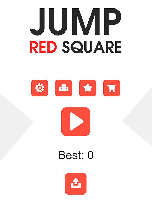 Jump Red Square Pro screenshot 4