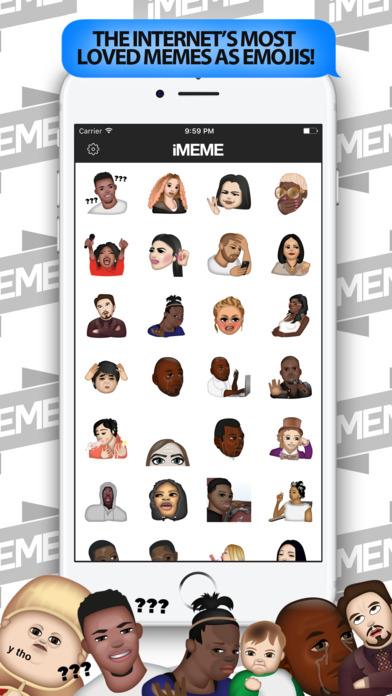 iMeme - Your Moji Meme Keyboard screenshot 2